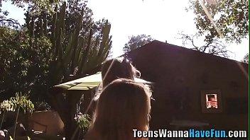 Real teen lesbian group