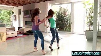 Hard Punish Sex Using Toys Between Lez Girls (adriana&amp_casey) video-04