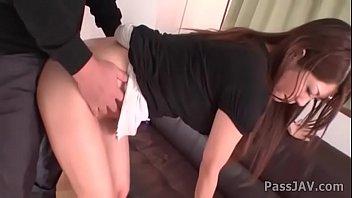 faux penis deep into rika minamino cock-squashing rump-drill hole
