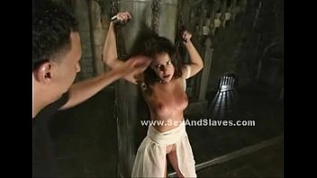 Boobs spanked and abused in bondage sex
