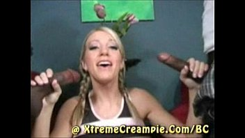 Barbie Cummings Interracial Creampie