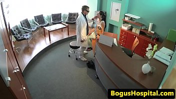 tatted smallish patient gets her puss.