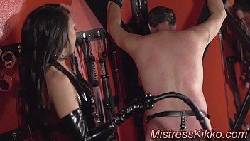 the caning boy with dominatrix kikko the vegas mistress