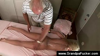 senior crank fondles virginal nubile