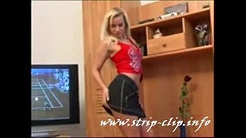 stripping blonde teen amazing body, amazing tits and nice ass!
