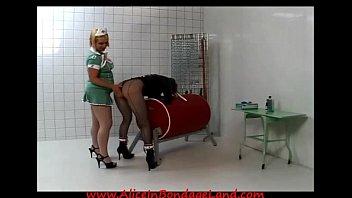 all girl jail nurse straight jacket spanking indignity.