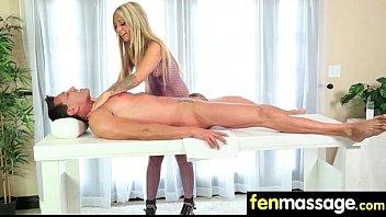 Deepthroat Blowjob From Big Tits Massage Girl 12