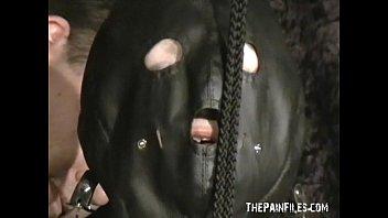 extreme mature sub gals masked orb confine bondage.