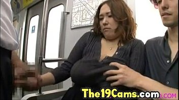 Big Tits Asian Fucked on Train, Free Japanese Porn Video 74