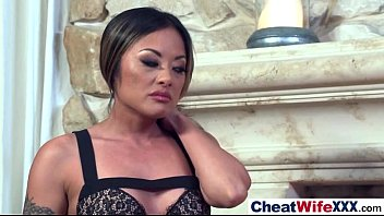 Hot Slut Wife (kaylani lei) Like To Cheat In Hard Style Sex Tape clip-14
