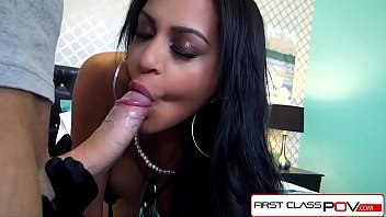 firstclasspov - kimberly kendall throating a meaty manmeat.