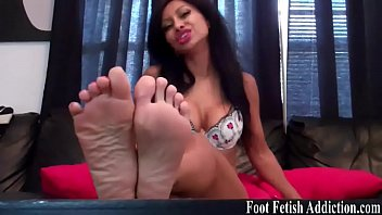you are obsessed with my feet.