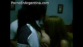 partuza con dos minas argentinas