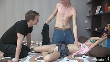 strapped teenager hotwife on her bf