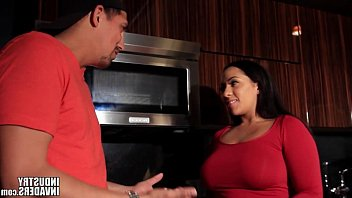 indian latina maid makes up for.