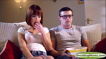MILF Tia Layne joins teen Tina Hott in a threesome