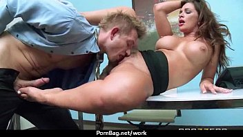 ginormous-funbag latina chief porks employee039_s rock-hard-stud meat in.