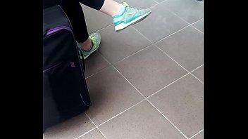 footwear candid
