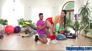 Hardcore sex workout for Asian babe(Katana) 01 vid-13