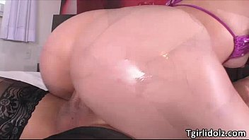 tgirl barbara predominates stunner nina in a lustful hook-up