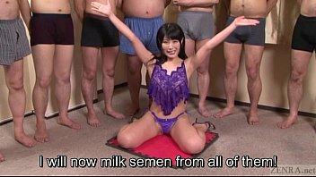 subtitled japanese gokkun guzzling soiree with.