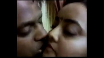 Indian couple hot kisses with selfi video