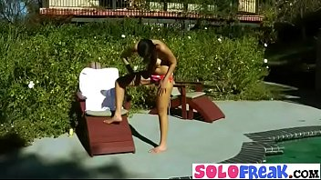 nadia noel solo sizzling woman in front of.