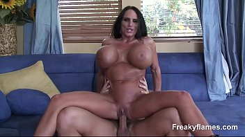 lustfull yam-sized funbags cougar filly step-mom enjoys to.
