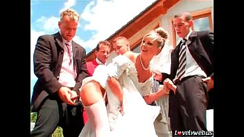 you may now gang-screw the bride
