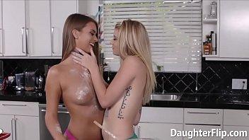 supah-cute baking teenies love gobbling poon