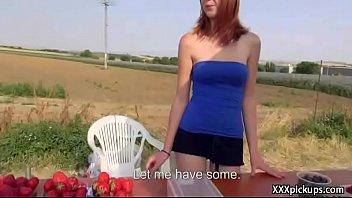 Public Pickups - Teen Amateur Euro Babe Seduces Tourist For Blowjob 24