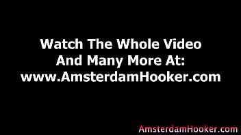 Real amateur guy eats european hooker pussy in reality sex