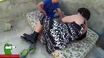 slurps all her cooter on an outdoor mattress raf053