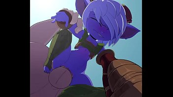 league of legends tristana getting romped.